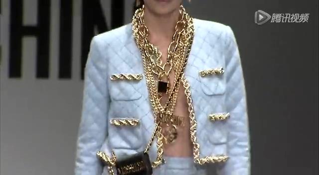 2014秋冬米兰时装周 Moschino发布会截图