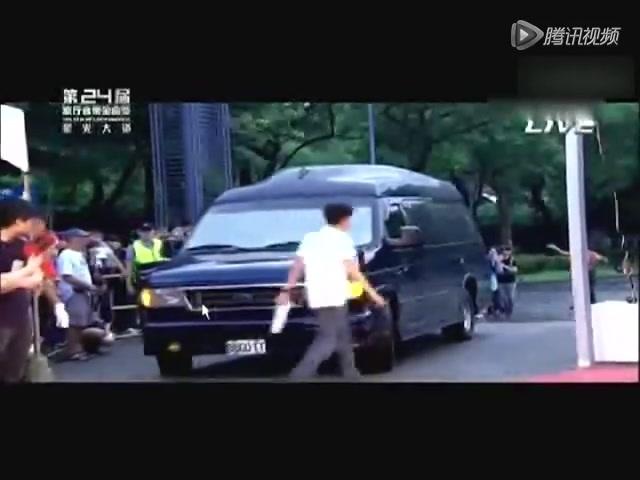 第24届金曲奖:天王周杰伦亮相耍帅