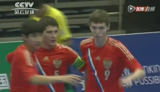 视频:五人制-中国1-2俄罗斯 邓韬闪电破门