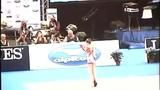 艺体少女神级柔体球操 折叠旋转倒立拍球