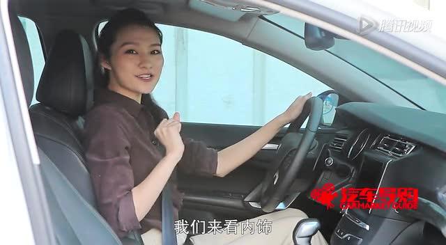 试车女神—《汽车导购》试驾全新东风标致408截图