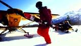 高山直落滑雪特辑 神人90度山崖游龙般极速前进