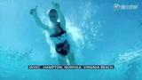 美国跳水明星秀失误集锦 橄榄球星爆粗口血染泳池
