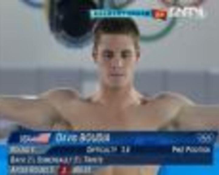 视频:男子10米台 布迪亚第6跳102.60分摘金