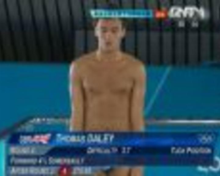 视频:男子10米跳台决赛 戴利第4跳得98.05分