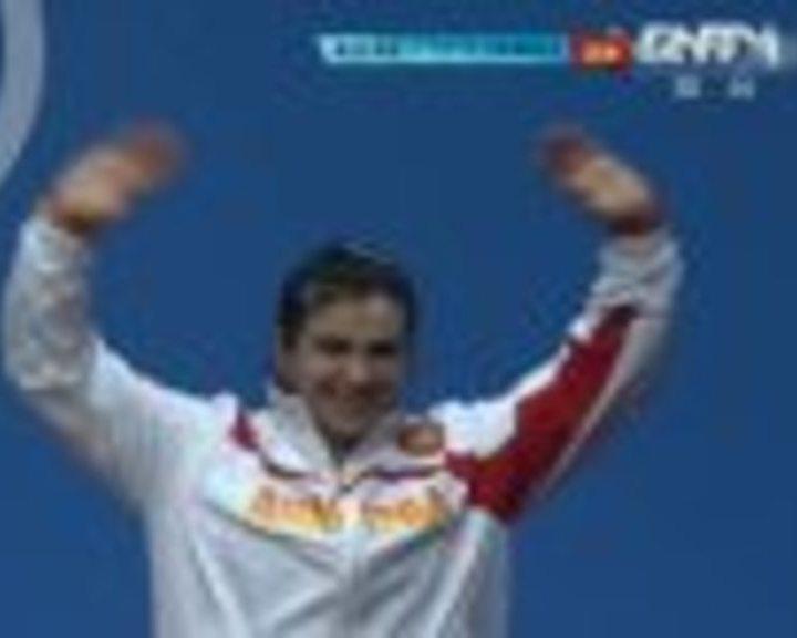 视频:女举75公斤以上级决赛颁奖仪式全回放