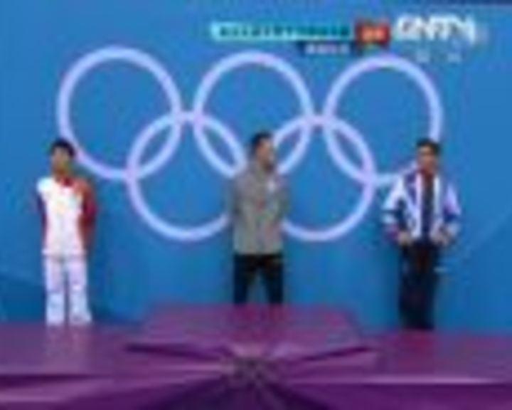 视频:奥运会男子10米跳台决赛颁奖仪式回放