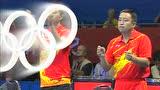 视频:乒乓男团决赛 张继科11-6朱世赫第3局