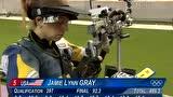 全场集锦:女子十米气步枪决赛 易思玲夺首金
