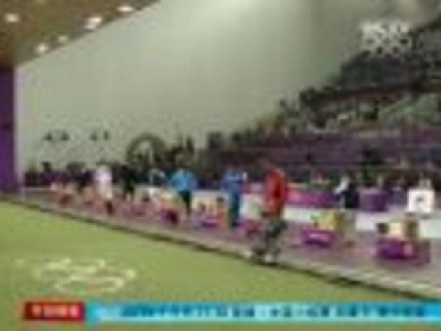 视频:男子50米手枪 王智伟0.1环涉险摘铜牌