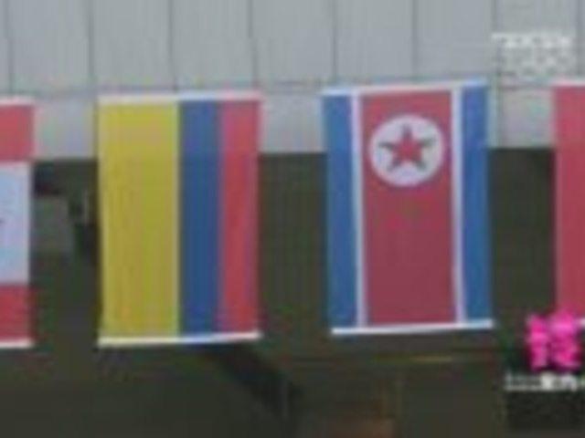 视频:盘点奥运会乌龙事件 国旗刮跑国歌骤停