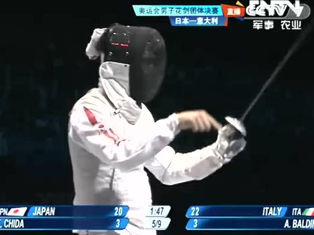 视频:近身缠斗互中剑 巴尔迪尼有惊无险得分