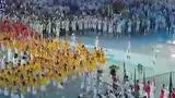 视频:北京奥运会旗手姚明 鲜红队伍盘绕赛场