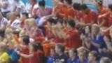 视频:男子双人10米跳 曹缘张雁全第4跳93.06