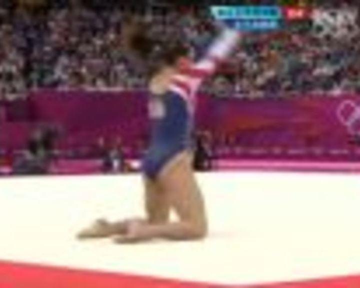 视频:伦敦奥运体操女子自由操 决赛全场回放