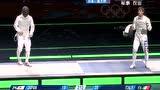 视频:男子花剑团体决赛 意大利VS日本第5局