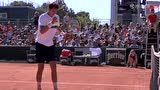 法网男单资格赛第三轮 佩拉VS简维尔 第三盘