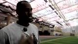 视频:詹姆斯杜兰特特训 詹皇加速跑险胜阿杜