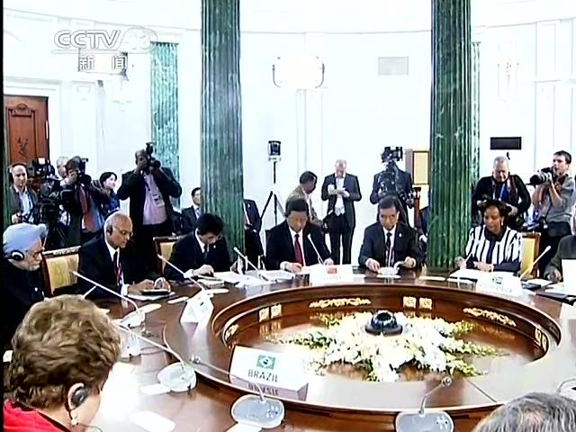 习近平出席金砖国家领导人非正式会晤截图