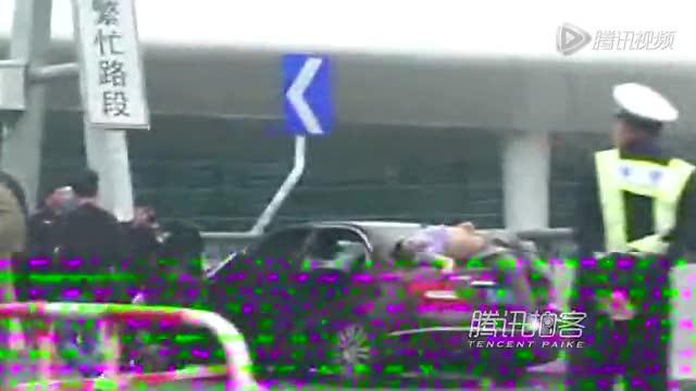 深圳机场车祸细节:爷孙三代看飞机遭飞来横祸