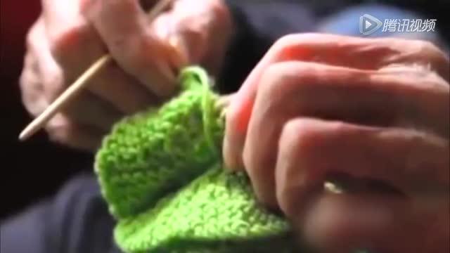 澳大利亚109岁最长寿老人为濒危企鹅织毛衣截图