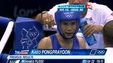 视频:男子拳击49kg决赛第1回合 邹市明领先