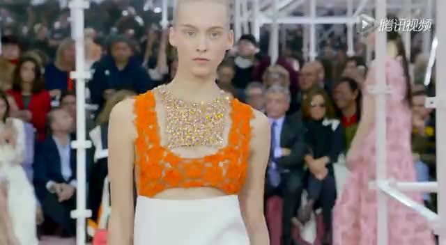 2015春夏巴黎高级定制周:Christian Dior截图