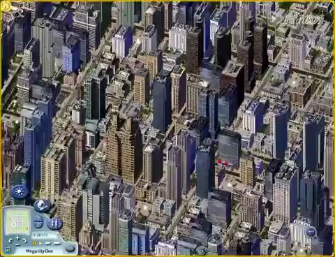 国外玩家打造 模拟城市4 上亿人口超级都市