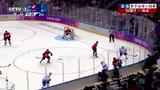 男子冰球加拿大VS挪威 枫叶军团强攻两球占先