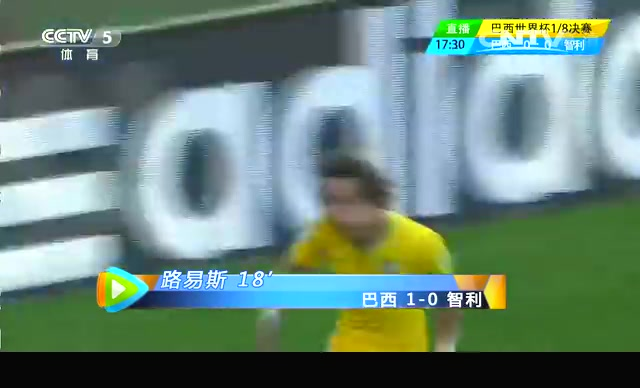 【进球】内马尔角球造机会 路易斯攻入淘汰赛首球截图