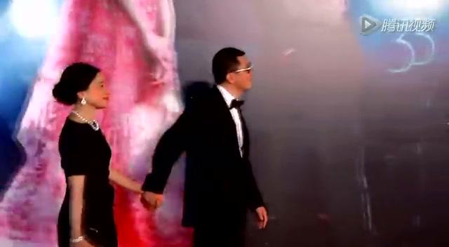 群星闪耀 第三十三届香港电影金像奖红毯造型剪影截图