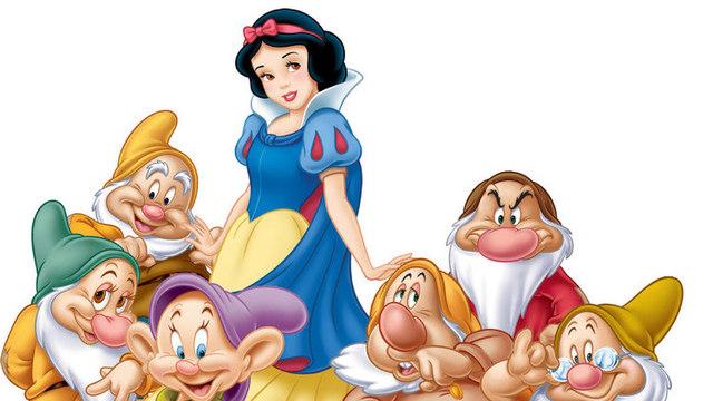 创意手工diy之七个小矮人与白雪公主
