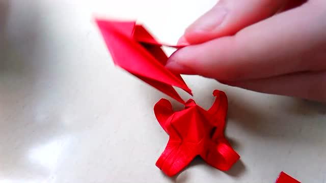 彼岸花折纸 你学会了吗