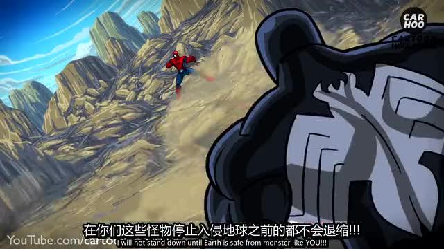 【卡通胡闹】蜘蛛侠vs毒液 绿魔 章鱼博士