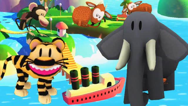 小熙解说我是动物摄影师 灵魂摄影师拍大象的时候没胶卷了!