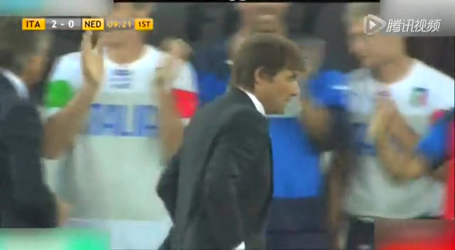 【集锦】意大利2-0荷兰 孔蒂首秀德罗西点杀截图
