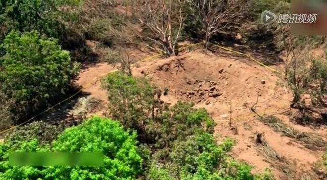 尼加拉瓜首都遭陨石冲击 现直径12米大坑截图