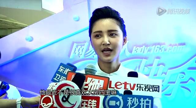 组图:张歆艺出席活动引骚乱 谈电影获奖不重要