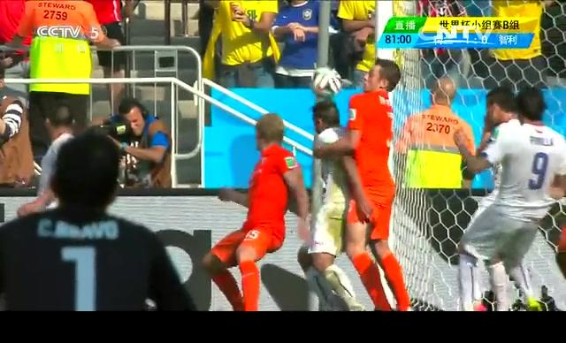 【智利集锦】荷兰2-0智利 桑切斯犀利过人难破门截图