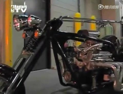 奥尼尔昔日摩托座驾 超长size亮瞎X眼截图