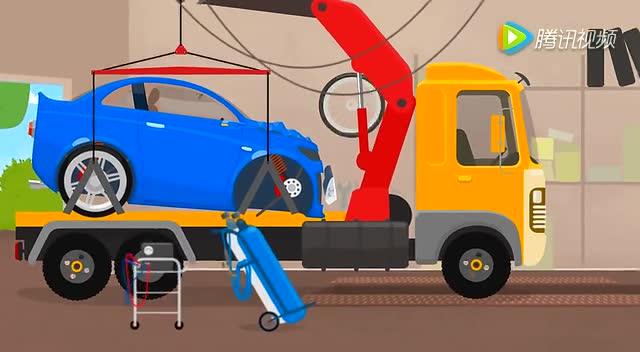 幼儿 汽车总动员变形警车救护车消防车吉普车卡车旅行车手工制作