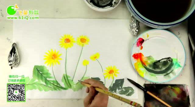 飞童教育儿童绘画动物系列21蝌蚪