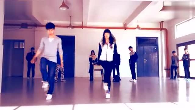 鬼步舞新手基础教学视频seve舞步图片