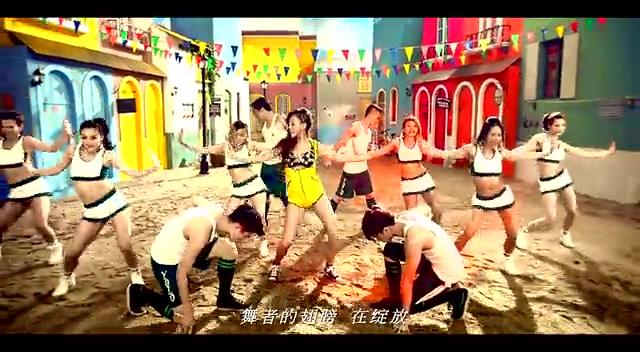 Karey天天《YOLO》MV首播 热舞为世界杯呐喊