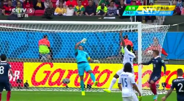 全场集锦:法国3-0洪都拉斯 本泽马2球截图
