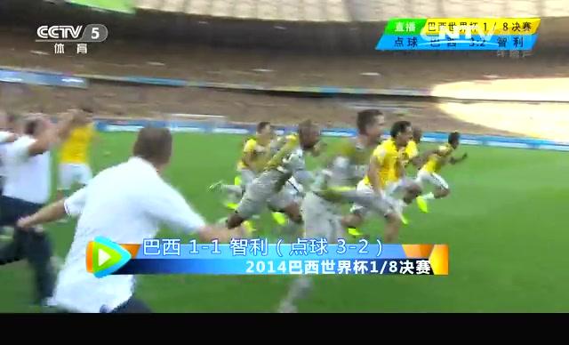 【巴西集锦】巴西4-3智利 塞萨尔点球大战神扑救截图