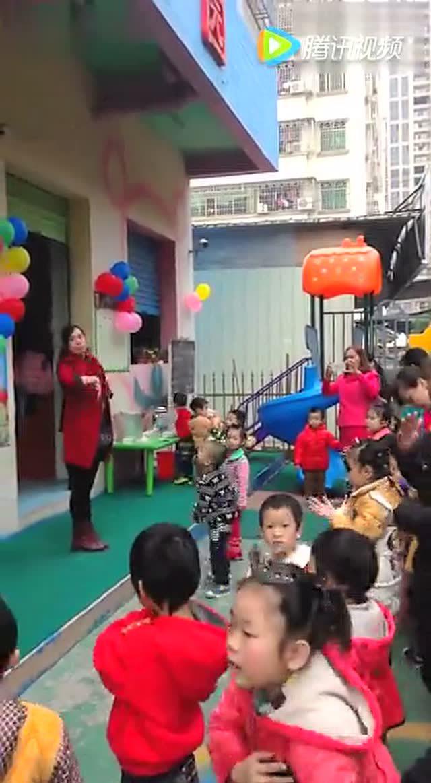 幼兒園親子游戲