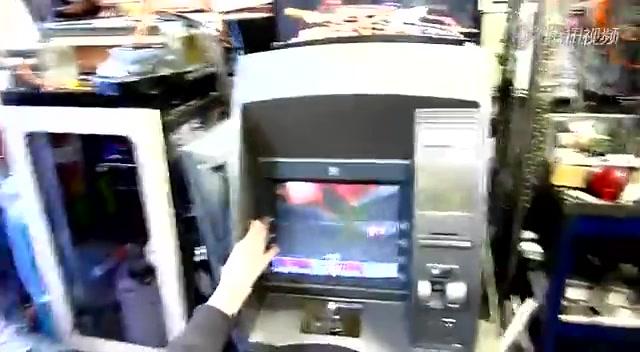黑客不让你取钱 atm取款机变成游戏机