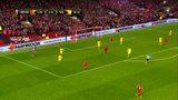 全场回放:欧联杯半决赛次回合 利物浦vs黄潜 下半场