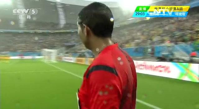 【墨西哥集锦】墨西哥1-0喀麦隆 佩拉尔塔补射建功截图